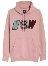 Nike Sportswear NSW Men's Fleece Hoodie Pullover Rust Pink 943573-685 Size XL
