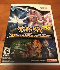 NO DISC - Replacement Case for Pokemon Battle Revolution (Nintendo Wii)