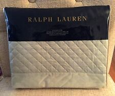 RALPH LAUREN WYATT SATEEN QUILTED STANDARD SHAM(1) ~ ANTIQUE JADE