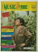 MUSIC ORBE MEXICAN MAGAZINE No 6 OCT 1972 JOSE JOSE / THE ROLLING STONES + MORE