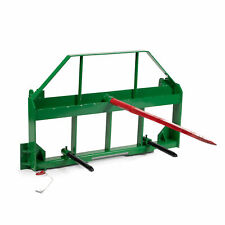 Titan Attachments 46 Pallet Fork Frame With 49 Hay Spears And Stabilizers