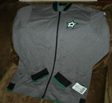 Dallas Stars Track Jacket men's large NEW with tags Adidas NHL 2018 authentic
