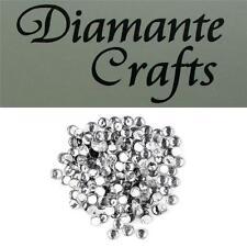 144 ss20 Clear Diamante 5mm Iron On Hotfix Rhinestone Embellishment Loose Gems