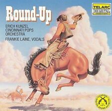 Round-Up by Cincinnati Pops Orchestra/Erich Kunzel (Conductor) (CD, 1986, Telarc