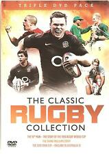 THE CLASSIC RUGBY COLLECTION - 3 DVD BOX SET 16th Man, Shane Williams, 2010 cook