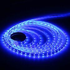 16.4ft 5m 2835 Blue 300 LED SMD Flexible Light Strip Lamp DC 12V