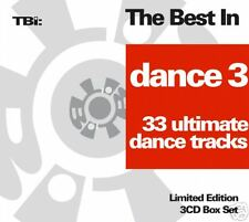 CD The Best In Dance 3 Ultimate Tracks von Various Artists 3CDs