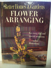 "Better Homes & Gardens ""Flower Arranging"" (1957, Hardcover) store#2261"