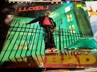 "LL COOL J  ""BAD"" VINYL Album first presssing 1987 Def Jam"