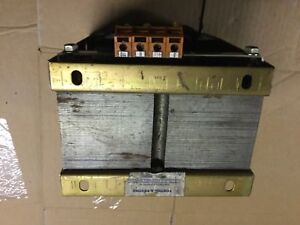 Transformer postma and postma brand 1kva 415v primary 110v secondary