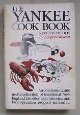 THE YANKEE COOKBOOK REVISED EDITION BY IMOGENE WOLCOTT NEW ENGLAND CLAMBAKE SC