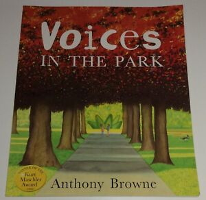 Voices In The Park By Anthony Brown               9780552545648