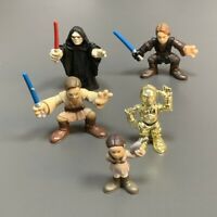 5x Star Wars Galactic Heroes Anakin Skywalker Obi Wan Padme Revenge Of The Sith