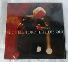 """MICHELE TORR CD Single promo   """" Je te dis oui """"  scellé"""