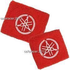 YAMAHA BRAKE/CLUTCH RESERVOIR SOCKS FLUID TANK CUP COVER SET R1 R6 RED&WHITE