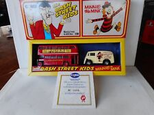 Corgi Comic Classics Beano Minnie The Minx Bash Street Kids Diecast Bus Car L/ED