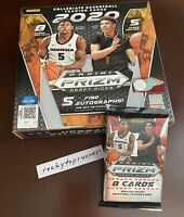 1 Hobby Pack from box 2020 Panini Prizm Draft Picks Collegiate Basketball Auto