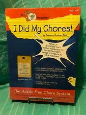 """New ~ """"I Did My Chores! ~ The Hassle Free Chore System ~ Ages 4 - 8 ~"""