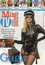 french magazine Mag TV N°118 lady gaga 2011