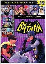 Batman: The Second Season 2, Part One 1 (4-DVD Set) • NEW • Adam West, TV Series