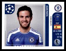 Panini Champions League 2011-2012 - Juan Mata Chelsea FC No. 290