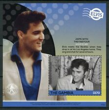 Gambia 2017 MNH Elvis Presley His Life in Stamps 1v S/S I Beatles Music