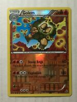 Pokemon Card XY Flashfire Reverse Holo Golem 47/106. FREE SHIPPING!