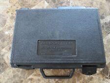 SNAP ON TOOLS  COMPRESSION GAUGE and HOSE STORAGE BOX / CASE --  BLACK