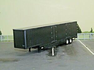 dcp black tandem axle 53ft Kentucky van trailer new no box 1/64