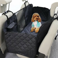 Pet Car Seat Cover Dog Safety Mat Cushion Rear Back Seat Protector Waterproof