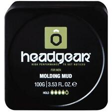 Headgear Mens Molding Mud Styler, strong hold, adds volume & texture 100g, new