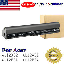 6-Cell Battery for Acer Aspire One 725 756 C710 AL12A31 AL12B31 AL12B32 AL12X32