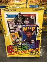 1989 Donruss Baseball Wax Box BBCE Authentic FASC From A Sealed Case Griffey RC