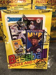 1989 Donruss BBCE FASC Wax Box From A Sealed Case - Possible Ken Griffey PSA 10
