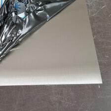 Tôle inox brossé  épaisseur 1,5 ou 2 mm plaque acier inoxydable 304l brossée