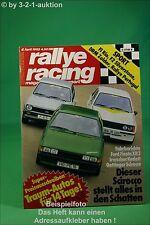 Rallye Racing 4/82 Irmscher Kadett Lotus Super Seven