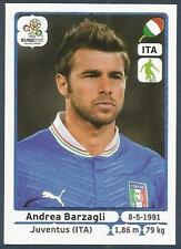 PANINI EURO 2012- #319-ITALIA-ITALY-JUVENTUS-ANDREA BARZAGLI
