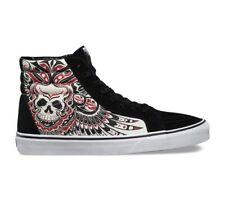 Vans Sk8 Hi Stormy Bird Black True White Mens Size 8.5