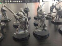 15 Uruk-hai Guerrieri Warriors Lord of the Rings