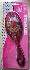 New Justice Girls Just Shine Initial ( C ) Paris Wet Brush Metallic Pink Silver