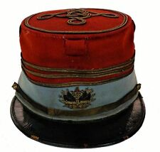 FRENCH CAVALRY OFFICER'S KEPI From 1876 TO 1886 Made by Famous Augustin Donny