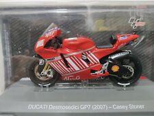 Ducati Desmosedici GP7 2007 Casey Stoner Colección Moto Gp Altaya 1:18