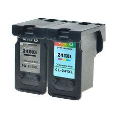 US STOCK 2PK PG240XL CL241XL Ink for Canon Pixma MG3520 MX372 MX432 MX439 MX459
