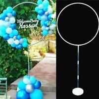Balloon Column Arch Set Base Stand Display Kit DIY Party Birthday Wedding R7K5