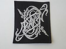 DAWN BLACK METAL EMBROIDERED PATCH