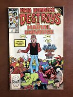 Fred Hembeck Destroys Marvel Universe #1 (1989) 7.5 VF Key Issue Comic Book