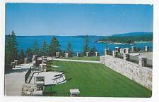 Mt. Desert Island Seal Harbor Maine Me Vintage Postcard