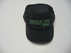 New Baylor University Bears Under Armour panel baseball hat heat gear black cap
