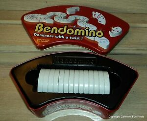 Bendomino Dominoes With a Twist Blue Orange Games 2006 Complete!