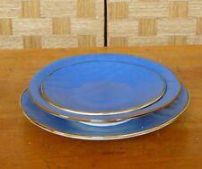 Posto tavola in ceramica colorata blu creata a mano etnica